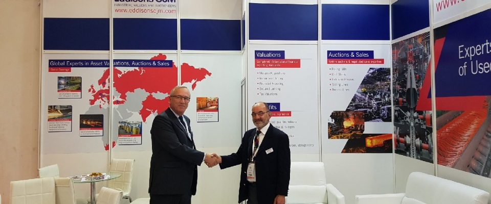 Eddisons Exhibiting at Tube and Steel Fair in Turkey
