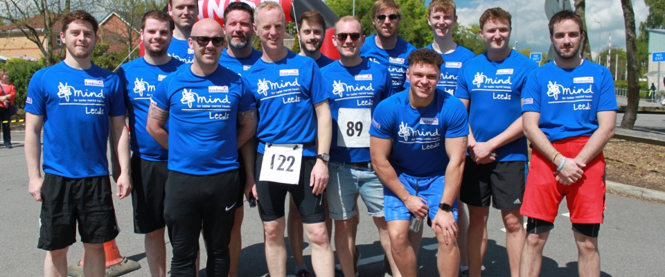 Eddisons triathlon team raise £5,000 for Yorkshire mental health charity