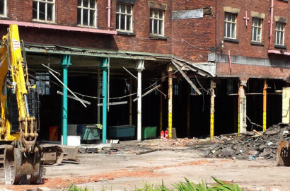 Demolition and Site Clearance for University of Bolton