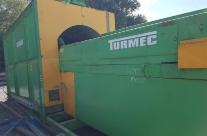 Surplus Recycling Equipment to include Trommel, Compactor/Baler & Picking Table