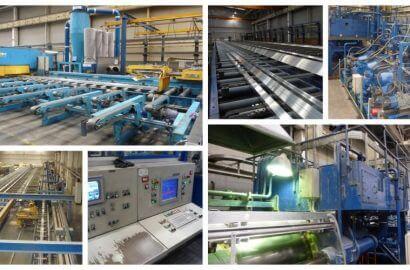 Refurbished Farrell  1500T Aluminium Extrusion Press