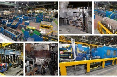 Non-Ferrous Horizontal Casting Lines, Tandem Mill, Scalping Machine, CNC Grinder, Sample Miller, Annealing Furnaces, etc