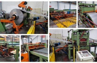 2014 Continuous Coil Coating Line for Aluminium Strip