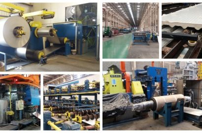 A Complete 16,000 TPY Aluminium Cold Rolling Plant producing also Sandwich Cladding Panels, Pipeline Insulation and a Wide Range of Aluminium Construction Materials