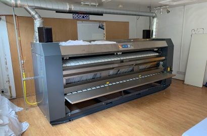 2019 – Primus IFF50-320 Industrial Flatwork Drying Ironer