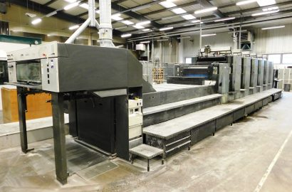 Wood Mitchell Printers Limited (In Liquidation) – Print / Finishing Machinery / Stock & Motor Vehicles (further lots to be added)