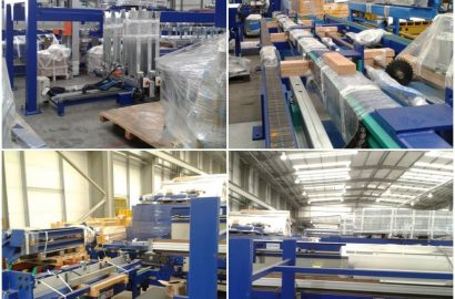 Delmac Unused Board Sawing and Packing Line for Processing Rigid Polyurethane Foam Panels