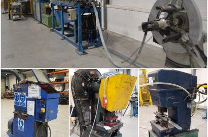 Arletti Roll Forming Line and Surplus Metalworking & Plastics Equipment