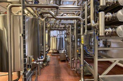 Ultra Filtration Plant, Milk Pasteurisation & Heat Recovery System & Skim Plant