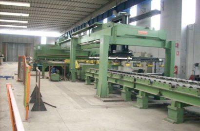 Novastilmec model MA60/10 Automatic Hydraulic Plate Shearing Line