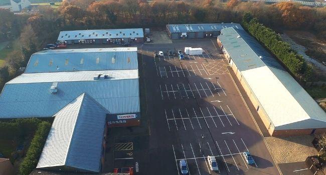 Coughtrey Industrial Estate in Norfolk